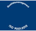 Qualitätssiegel ISO 9001:2015